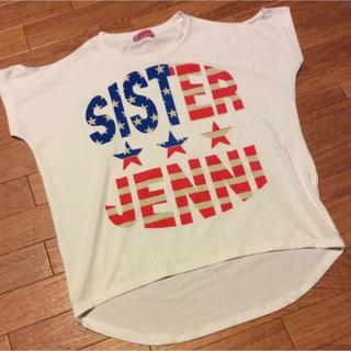 ジェニィ(JENNI)のJENNI Tシャツ 肩出し ジェニィ(Tシャツ/カットソー)