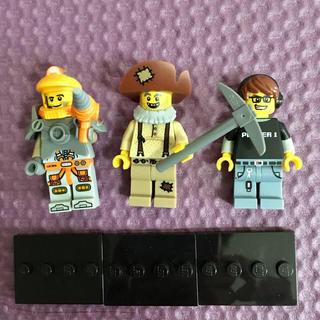 Lego - レゴ ミニフィグ 3体
