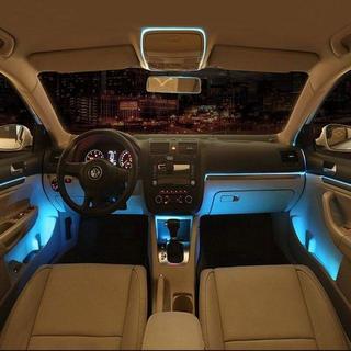 カー内部LED装飾ライト シングルカラーモード