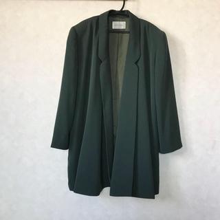 ドゥルカマラ(Dulcamara)の古着屋購入 ガウン風 テーラードジャケット (テーラードジャケット)