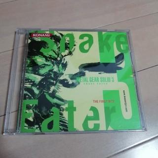 メタルギアソリッド3 サウンドトラック snake eater(ゲーム音楽)