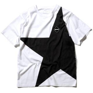 F.C.R.B. - Lサイズ FCRB BIG STAR TEE WHITE ホワイト 白
