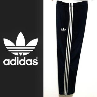 adidas - adidas Originals 3ライン ジャージ ワイドパンツ ブラック