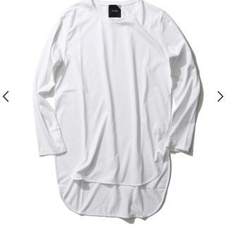ドゥーズィエムクラス(DEUXIEME CLASSE)のATONエイトン⋆ラウンドヘムTシャツ⋆新品タグ付き(Tシャツ(長袖/七分))