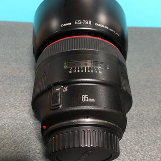 キヤノン(Canon)の(美品)Canon EF85mm F1.2 L Ⅱ(レンズ(単焦点))
