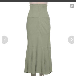 snidel - 定価¥15,120 今期! 新品未使用! コットン リネン マーメイド スカート