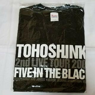 東方神起 - 東方神起【FIVE IN THE BLACK 】Tシャツ