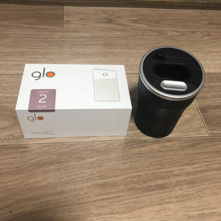 グロー(glo)のglo series2 ROSE 充電スタンド付(タバコグッズ)