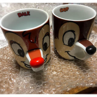 Disney - チップとデール マグカップセット ペアマグカップ