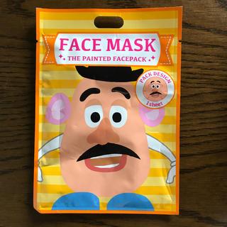 ディズニー(Disney)のディズニーフェイスマスク ポテトヘッド(パック / フェイスマスク)