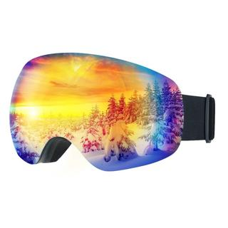 スノーゴーグル スキーボード 99%UVカット 曇り防止 男女兼用(ウエア/装備)