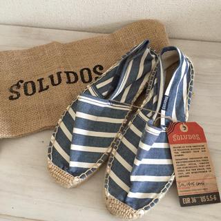 ソルドス(SOLUDOS)の新品 ソルドス エスパドリーユ スリッポン(スリッポン/モカシン)