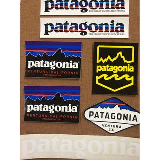 patagonia - Patagonia パタゴニアステッカー 5種7枚セット