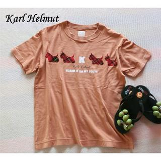 """カールヘルム(Karl Helmut)の""""Karl Helmut"""" 半袖Tシャツ(Tシャツ(半袖/袖なし))"""