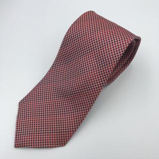 デュポン(DuPont)の☆美品☆デュポン シンプルパターン RED(ネクタイ)