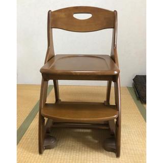 コイズミ(KOIZUMI)のコイズミ学習椅子木製(デスクチェア)