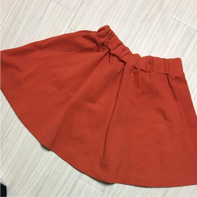 GU(ジーユー)のGU✩.*˚スカート130 キッズ/ベビー/マタニティのキッズ服 女の子用(90cm~)(スカート)の商品写真