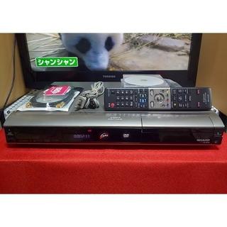 シャープ(SHARP)の完動品☆シャープAQUOS《DV‐AC82》HDMI搭載☆地デジセット説明書付き(DVDレコーダー)