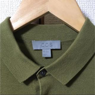コス(COS)のcos ニットポロシャツ(ニット/セーター)