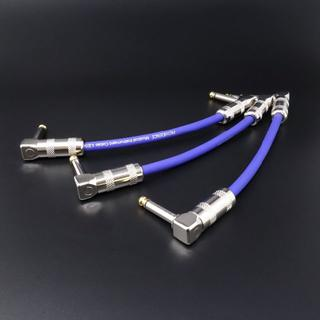 【Providence LE501 ブルー】15cm 3本セット(シールド/ケーブル)