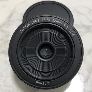 キヤノン(Canon)のCanon  EF-M 22mm STM 単焦点レンズ(レンズ(単焦点))