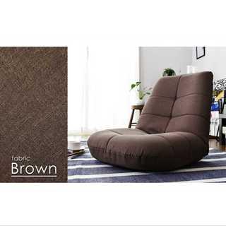 ブラウン/座椅子/ポケットコイル/14段階調整/安定感(ロッキングチェア)