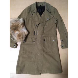 ハイク(HYKE)の極美品 green (現hyke) / motor cycle coat(トレンチコート)