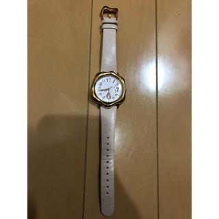 キューポット(Q-pot.)のQ pot 腕時計 レディース ピンク(腕時計)