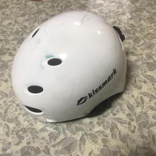 キスマーク(kissmark)のkiss mark ヘルメット スキー スノーボード(ウエア/装備)