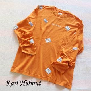 """カールヘルム(Karl Helmut)の""""Karl Helmut"""" Tシャツ(Tシャツ(長袖/七分))"""