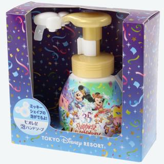 Disney - TDR35周年限定グッズ✨ミッキーシェイプ泡ハンドソープ✨新品未使用