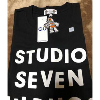 GU - ブラック M スタジオセブン Tシャツ