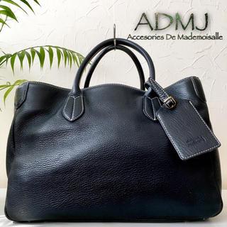 エーディーエムジェイ(A.D.M.J.)の◇極美品◆ 日本製 ADMJ 定約4.9万 総本革 レザートートバッグ 牛革 鞄(トートバッグ)
