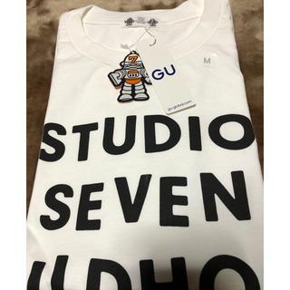 GU - Tシャツ M スタジオセブン ジーユー