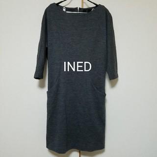 イネド(INED)のINED ワンピース(ミニワンピース)
