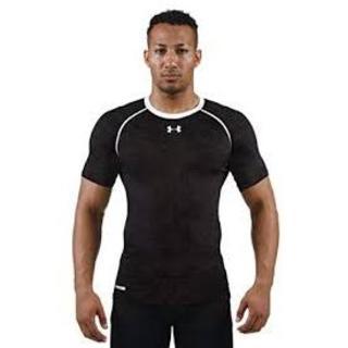 アンダーアーマー(UNDER ARMOUR)のUnder Armour UAヒートギアコンプレッションエンボスSS(Tシャツ/カットソー(半袖/袖なし))