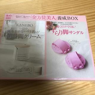 カネボウ(Kanebo)の売り切れました。すらり脚サンダル カネボウフレッシュデイクリーム(エクササイズ用品)