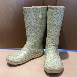 クロックス(crocs)のレインブーツ 長靴  クロックス 25㎝ W9 レア柄(レインブーツ/長靴)