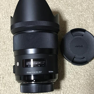 シグマ(SIGMA)のシグマ  35  f1.4   ニコン用(レンズ(単焦点))