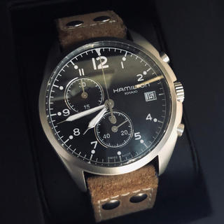 ハミルトン(Hamilton)のハミルトン カーキパイロット クロノ(腕時計(アナログ))