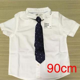 H&M - ネクタイ付きシャツ