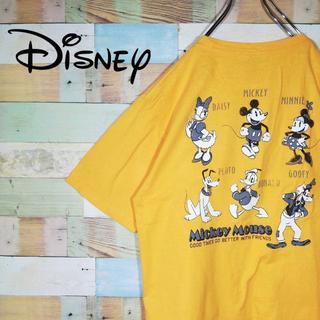 ディズニー(Disney)の古着 ディズニー ミッキー ミニー グーフィー プルート Tシャツ(Tシャツ/カットソー(半袖/袖なし))
