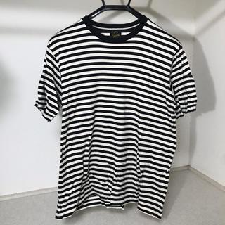 ニードルス(Needles)のNEEDLES ボーダー Tシャツ(Tシャツ/カットソー(半袖/袖なし))