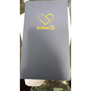 エイスース(ASUS)の新品未使用 Zenfone 5Z 128GB SIMフリー シャイニーブラック(スマートフォン本体)