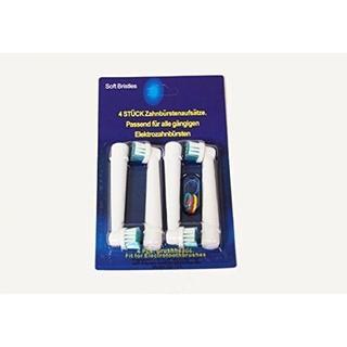 ブラウン オーラルB 電動歯ブラシ EB17-4 互換 4本入り(電動歯ブラシ)
