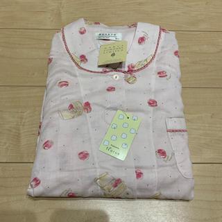 ナルエー(narue)のナルエーの可愛いピンクのマカロン柄パジャマ♡新品未使用タグ付き美品♡(パジャマ)