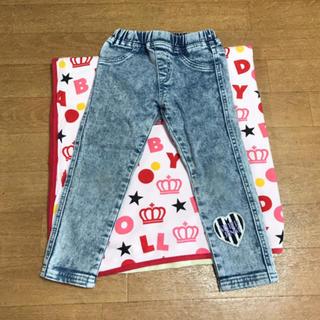 ジェニィ(JENNI)のJENNI♡デニムパンツ♡100(パンツ/スパッツ)