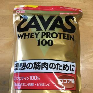 ザバス(SAVAS)のザバス ホエイプロテイン ココア味 1050g SAVAS(プロテイン)