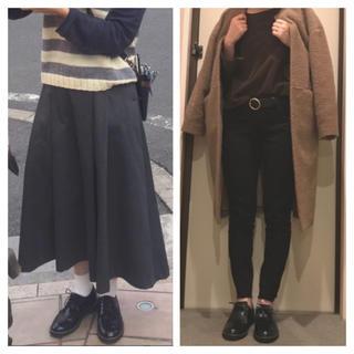 ハルタ(HARUTA)のハルタ ウィングチップキルトシューズ ブラック(ローファー/革靴)