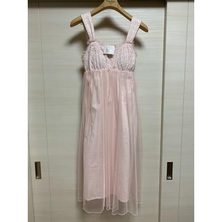 ナルエー(narue)のナルエーのお姫様ドレス風ルームウェア♡新品未使用タグ付き美品♡(ルームウェア)